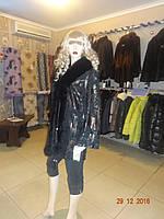 Куртка черная замшевая