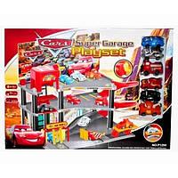 Игровой набор 1299 детский паркинг Тачки  с машинками.
