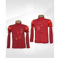 Атласная блузка однотон 01060_SoF