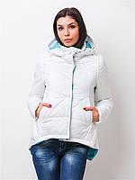 Женская демисезонная куртка на силиконе 80145 44-46