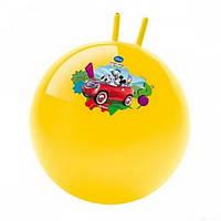 Фитбол (гимнастический мяч) с рожками надувной, 55 см. Цвета