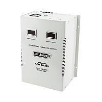 Релейный однофазный стабилизатор напряжения Дніпро-М АСН-8000Н