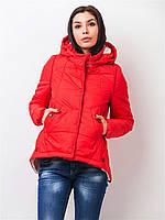 Женская демисезонная куртка на силиконе 90145 48-50