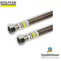 """Шланг для газа ECO-FLEX 1/2"""" ВВ 40 см, гофрированный"""