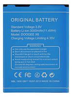 Оригинальная батарея Doogee X6/X6 Pro