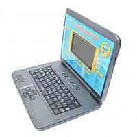 Детский обучающий компьютер русско-английский с наушниками 7072, MPЗ, 37 функций