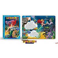Книги-пазлы сказки Собираем и читаем 15 книг Danko toys. 5 картинок пазлов