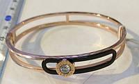 Браслет-кольцо Bvicurl 0164 из ювелирной стали золотистого цвета