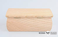 Заготовка для шкатулки, шкатулка для резьбы 16x8cm