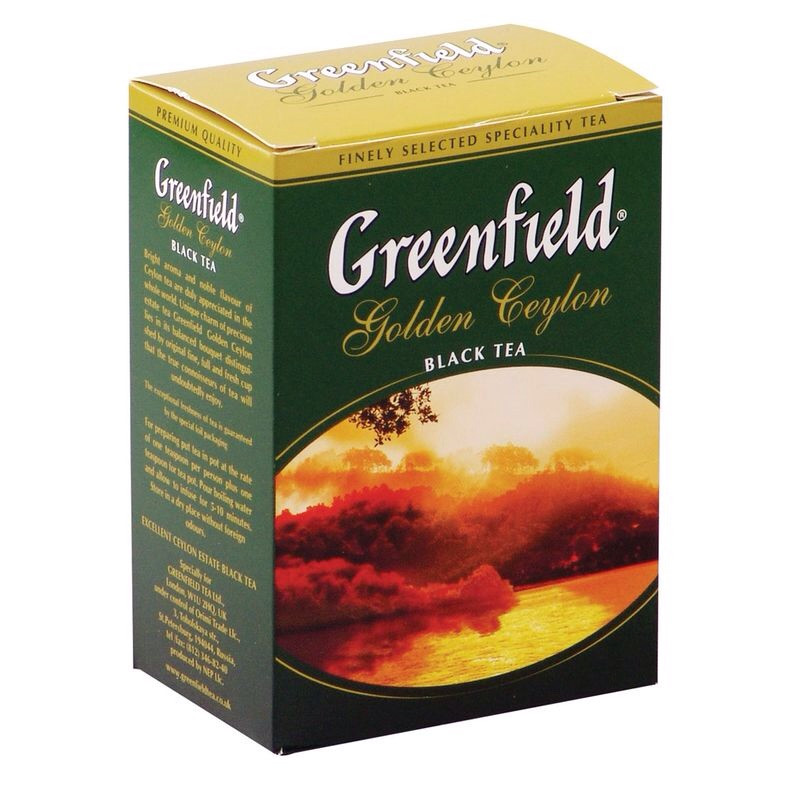 Чай Greenfield Golden Ceylon черный 100 г