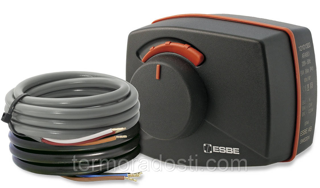 Электрический привод ESBE ARA 659 (2 точки, 24В, 45-120 сек)