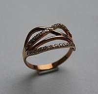 Кольцо золотое женское 11925