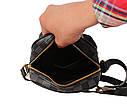 Мужская кожаная сумка 30-203 серая, фото 7