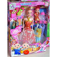 Кукла с нарядом 5683B з дочкойю Реальное фото товара внутри описания!