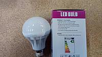 Лампа светодиодная 5W, E27, 6000K