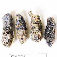 37.78 ктПриродный грубый голубой сапфир необработан 4 шт
