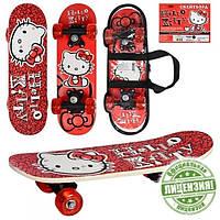 Hello Kitty скейт на пластиковой подвеске 0053