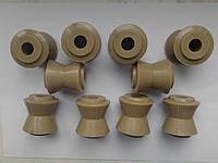 Втулки реактивных тяг Ваз 2101-2107,2121 полиуретановые усиленные (к-кт 10 шт) Украина