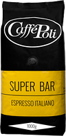 Кофе Caffe Poli Super Bar в зернах 1 кг, фото 1