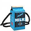 Эксклюзивная сумочка в виде пачки молока, фото 3