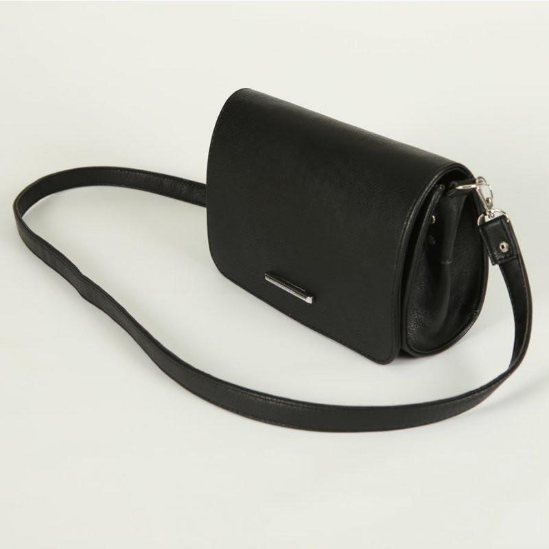 f920d7a75d6a Сумка-клатч овальная матовая черная с клапаном: продажа, цена в ...