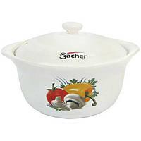Кастрюля из керамики Sacher молочная 2.4 л