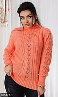 Вязаный свитер  большие размеры