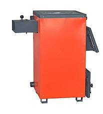 Твердотопливный котел Amica Optima 14 кВт с плитой, фото 3
