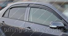 Ветровики окон Тойота Королла 10 (дефлекторы боковых окон Toyota Corolla X)