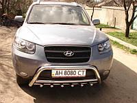 Кенгурятник для Hyundai Santafe 2007