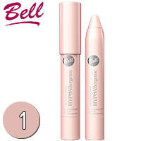 Bell HypoAllergenic - Тени для век в карандаше Waterproof Тон 01 нежно розовые
