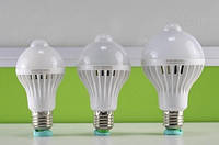 Светодиодная лампа с датчиком движения CAN MEI JIA 5730 [Мощность: 9 Ватт]