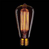 Старинные лампы накаливания Эдисона Fancy Lighting [форма: грушевидная (ST64)]