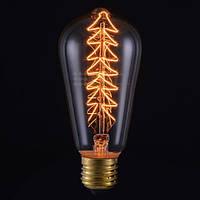 Старинные лампы накаливания Эдисона Fancy Lighting [форма: грушевидная (ST66)]