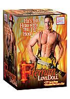 Секс кукла Fireman Love Doll, 30х6 см