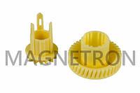 Набор шестерней (2 шт) редуктора мотора для ломтерезок Bosch 151728 (код:18697)