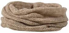 Теплый вязанный женский шарфик снуд  от Loman Польша, фото 3