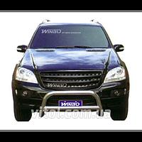 ML 164 2005-2013 защита переднего бампера, металл  A141003