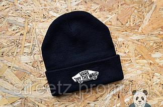 Зимняя шапка Vans Off The Wall / Ванс ( множество цветов ), фото 3