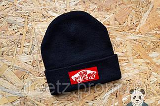 Зимняя шапка Vans Off The Wall / Ванс ( множество цветов ), фото 2