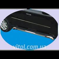Mercedes ML 164 2005-2013 пороги декоративные, металл  BZ-C020