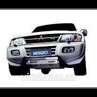 Mitsubishi Pajero 1999-2006 защита двигателя DMB-04 (E 120208)