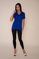 Блузка для женщины 469-620/46/синій в наличии 46 р., также есть: 44,46,48,50,52, Роксана_Дітекс