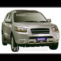 Hyundai Santa Fe 2007-2013 защита переднего бампера, металл DJ06042802 G10009