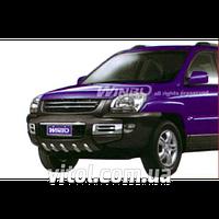 Kia Sportage 2004-2010 защита переднего бампера, металл A160499 DJ05122303