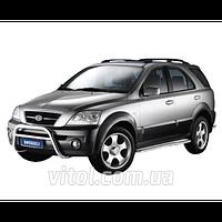 Kia Sorento 2002-2009 защита переднего бампера, металл QQM52S(A160006)