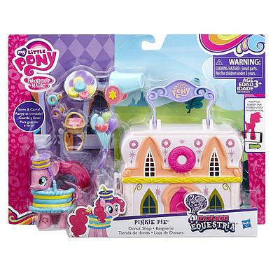 Пинки Пай май литл пони набор с аксессуарами бутик донатсов / My Little Pony Pinkie Pie