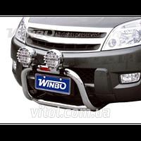 Great Wall Hover  H3 2005+ защита переднего бампера, металл A240603