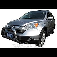 Honda CRV 2007-2013 защита переднего бампера, металл, A150584