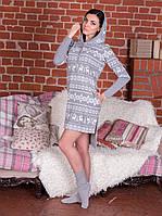 Домашняя одежда женская_Платья женские трикотажные_Платье для женщины 564/XXL/ в наличии XXL р., также есть: XXL, Роксана_ЦС